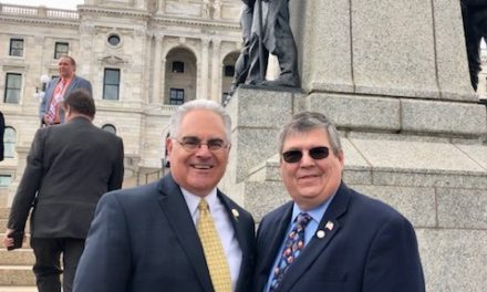 Today, state lawmakers gathered on the State Capitol steps to celebrate the Nati…